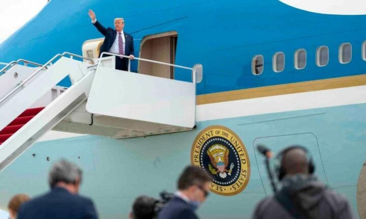 ABD Başkanı Trump, Covid-19 nedeniyle ara verdiği seyahatlerine yeniden başladı