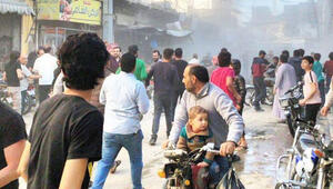 El Bab'da sivillere saldırı