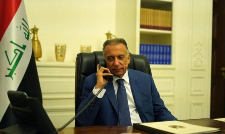 Irak Başbakanı El-Kazimi, ABD Başkanı Trump ile telefonda görüştü….