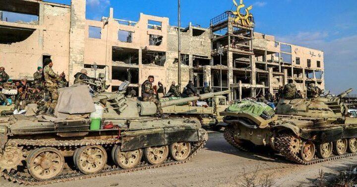 UMH güçleri Alasaba kentini Hafter milislerinden kurtardı