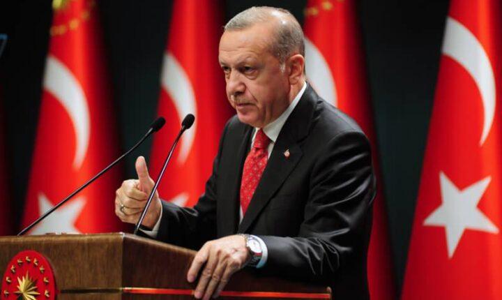 t.c başkanı Erdoğan Kars Barajı Açılış Töreni'nde konuşuyor.