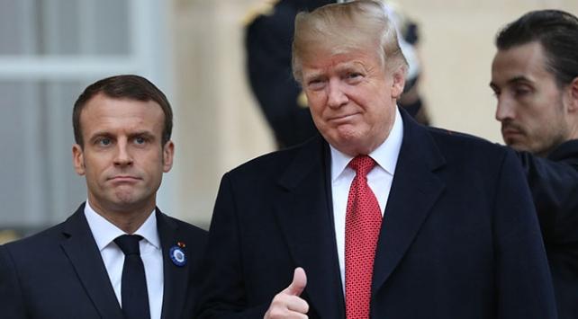 Trump ve Macron Libya'da ateşkes çağrısı yaptı