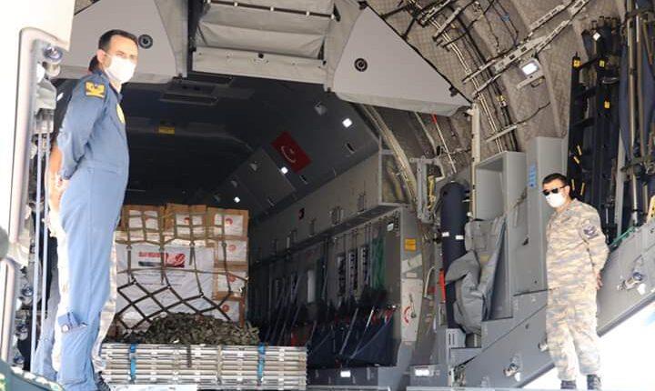 Türkiye'den gönderilen yardımlar Irak'a ulaştı.