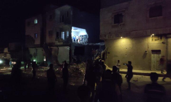 Son dakika! Bab'da hava saldırısı! 1 kişi öldü, 11 kişi yaralandı