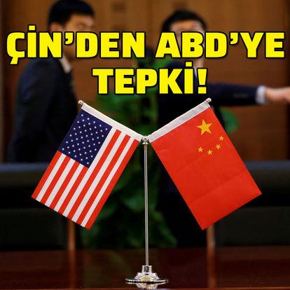 Pekin'den Washington'a tepki