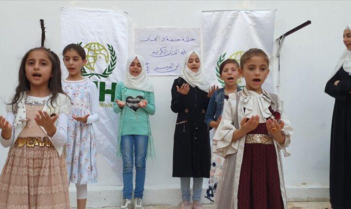 İHH'den Barış Pınarı Harekatı bölgesinde dini