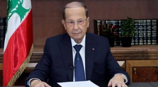 Lübnan Cumhurbaşkanı Mişel Avn,