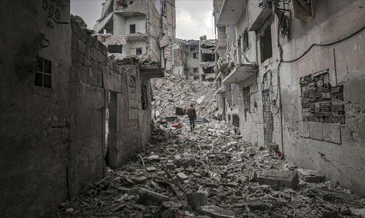 Esed rejimi son 4 yılda 13 binden fazla sivili öldürdü