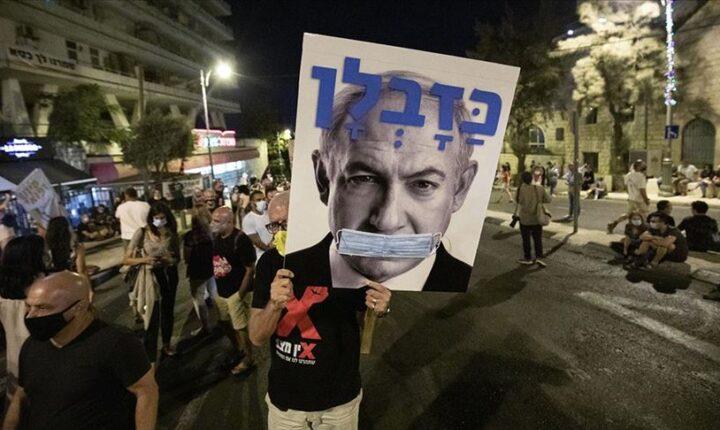 İsrail'de binlerde kişi,