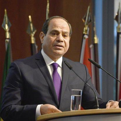 Mısır Cumhurbaşkanlığından yapılan açıklamada