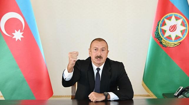 Azerbaycan Cumhurbaşkanı Aliyev,
