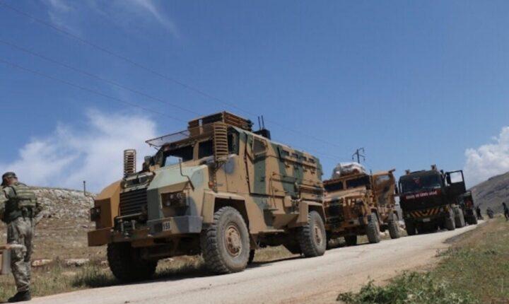 Türk ordusu İdlib'e ağır tanklar girdi