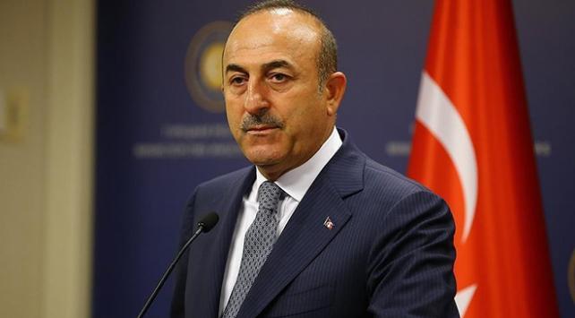 """Dışişleri Bakanı Mevlüt Çavuşoğlu, Doğu Akdeniz'de yaşanan gerilime ilişkin, """"Türkiye'yi dışarıda bırakacak her türlü girişim başarısızlıkla sonuçlanmaya adaydır"""" dedi."""