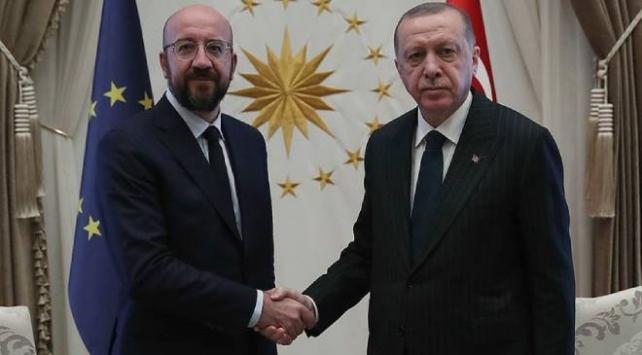 Cumhurbaşkanı Recep Tayyip Erdoğan, Avrupa Birliği Konseyi Başkanı Charles Michel ile bir telefon görüşmesi gerçekleştirdi.