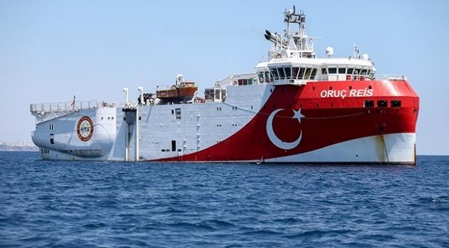 Sismik araştırma gemileri Oruç Reis, Ataman ve Cengizhan için yeni Navtex ilan edildi.