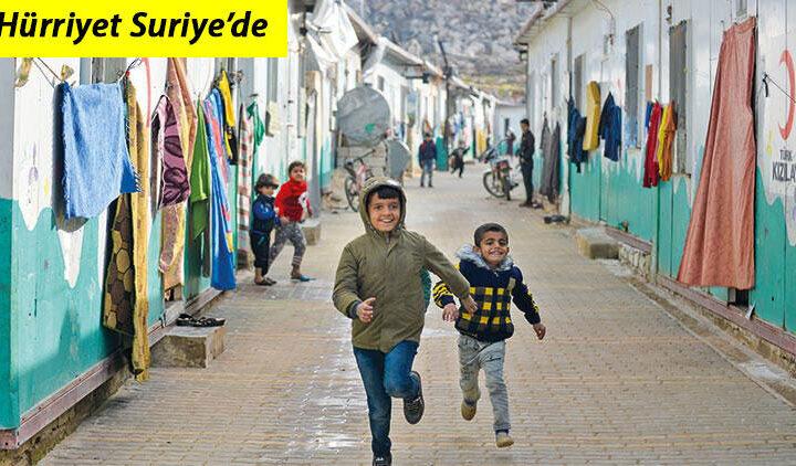 Hürriyet Suriye'de… Savaş çocuklarının dileği barış