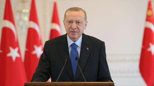 Cumhurbaşkanı Erdoğan'dan OECD İstanbul Merkezi açılış programına videomesaj