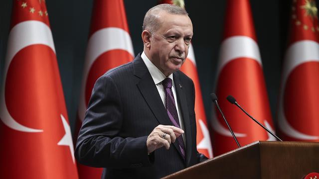 Türkiye Cumhuriyeti Cumhurbaşkan Erdoğan, Menfi ve Dubeybe ile görüştü