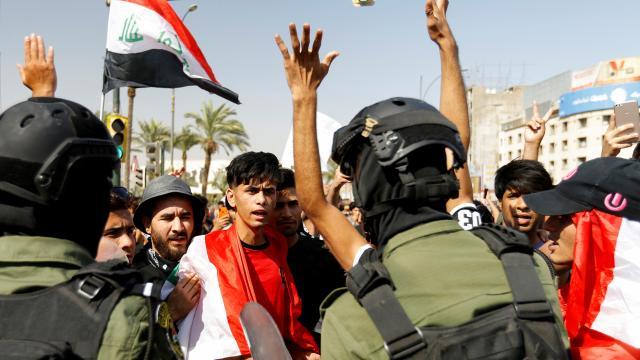 Irak'ta protestoculara ateş açıldı: 4 yaralı