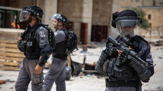 İsrail güçlerinden Batı Şeria'da saldırı: 93 Filistinli yaralandı